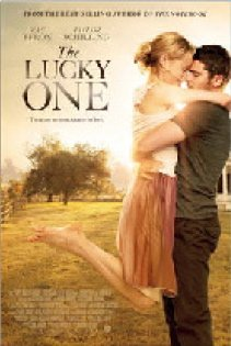 "POSTER DE ""THE LUCKY ONE """