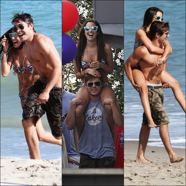 Magnifique moments de Zac qui participe a l'anniv de Ashley Tisdale