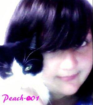 Mwah et mon p'tit chat d'amour ♥