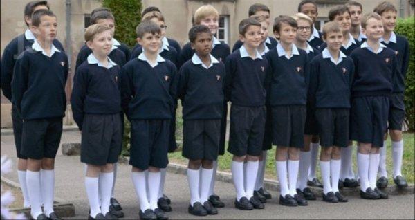 Les Petits Chanteurs, le 16 avril à l'église