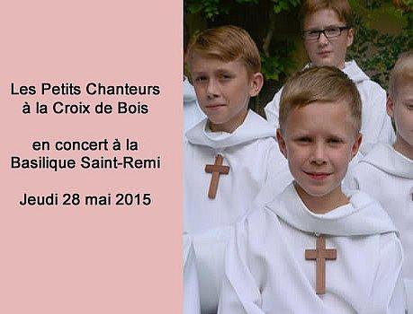Les Petits Chanteurs à la Croix de Bois en concert à Reims