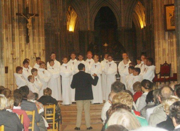 Les Petits Chanteurs à la Croix de bois à Dieppe