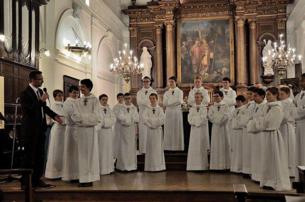 Les Petits Chanteurs à la croix de bois était à Saint-Romain-de-Colbosc