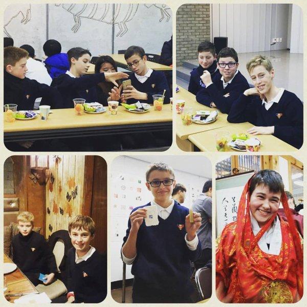 Quelques photos de Petits Chanteurs à la Croix de Bois heureux!