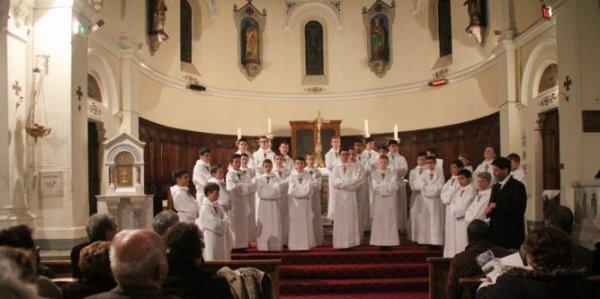 Saint-Ambroix : succès pour les Petits Chanteurs à la croix de bois