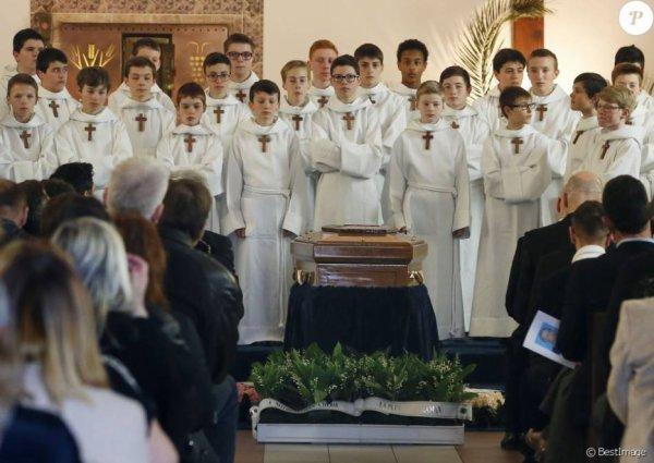 Les PCCB à l'enterrement de Marcelle Sophie Mathieu