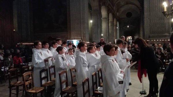 Samedi 22 avril, Messe pour la Miséricorde Divine, Église Saint Sulpice