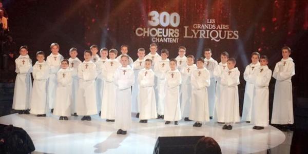 """Ce soir, diffusion de notre dernier enregistrement TV dans l'émission """"300 ch½urs chantent les grands airs lyriques"""" sur France 3 dès 21h"""