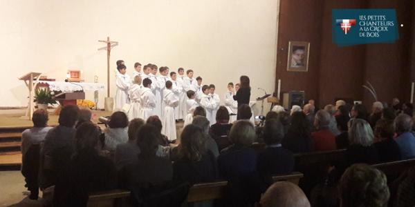 L'église St-Vincent était pleine