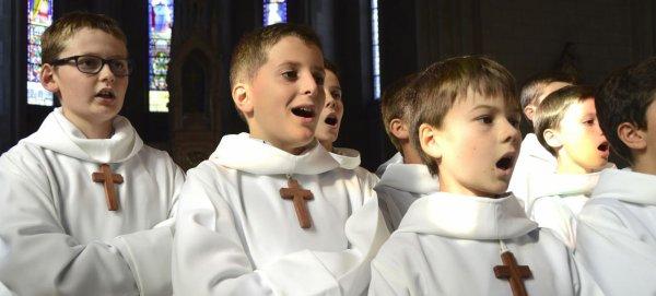 Les Petits Chanteurs à la croix de bois, stars à Séoul