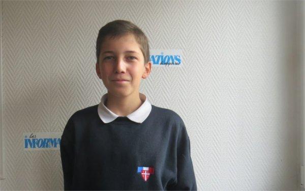 Pierre-Louis Bazin, un Offranvillais de 12 ans, Petit Chanteur à la croix de bois