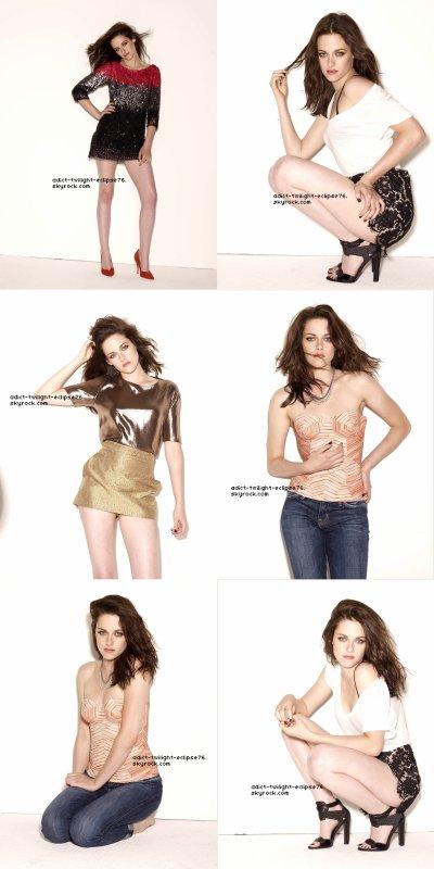 Nouvelles photos du photoshoot de Glamour U.S  |  Photoshoot du casting de SWATH  |  Kristen re-back in Paris!