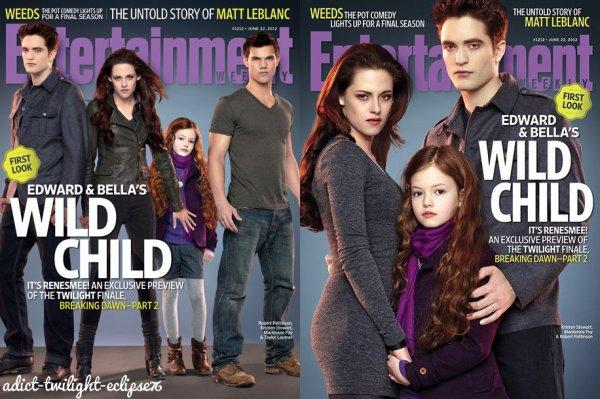 Stills et couverture mag Breaking Dawn part 2