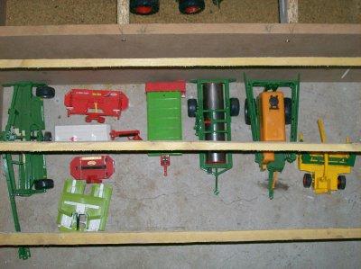 suite de mes tracteurs et accessoires
