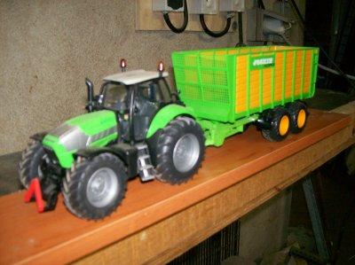 tracteurs et remorques