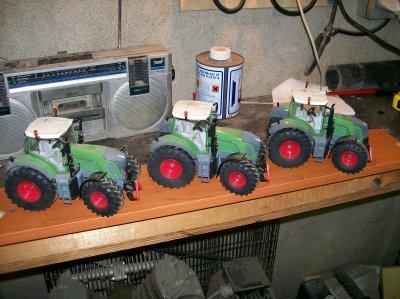 materiel et tracteur
