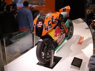 La petite KTM au salon de la moto