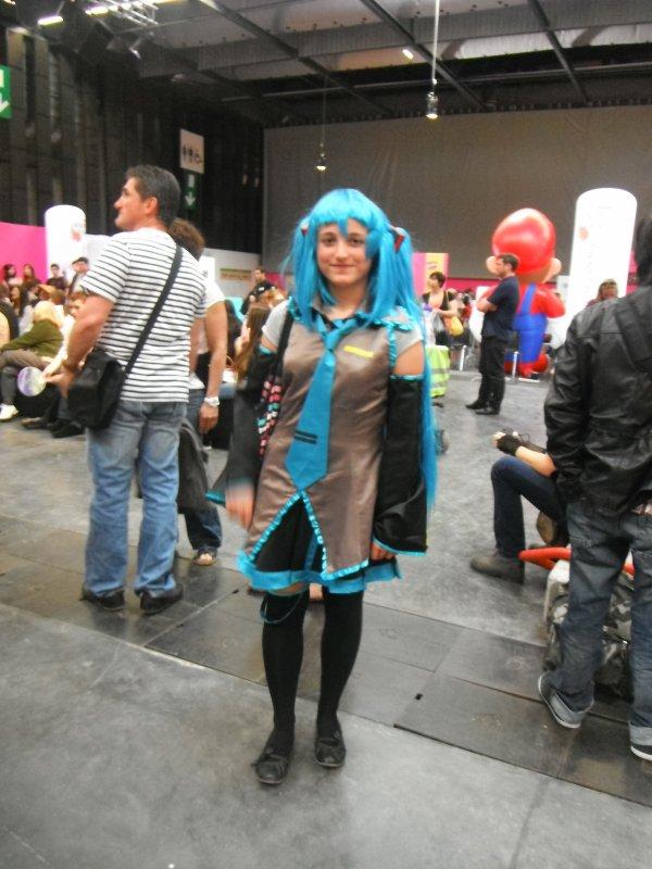 Japan Week - La foire Expo de bordeaux - défilé de cosplay