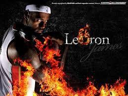 LeBron ignites