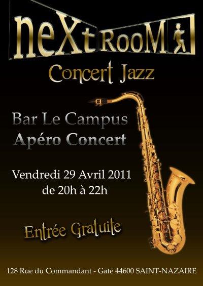"Apéro Concert bar "" le campus """
