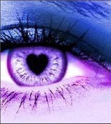 l'amour en violet