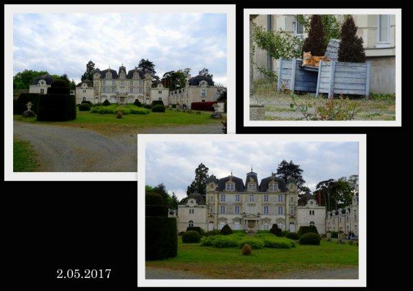 chateau du plessis clérembault à st rémy en mauge (date  de 1820)