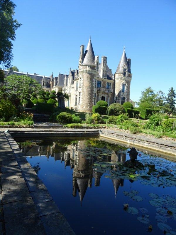 jardin du chateau du pin à champtocé