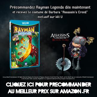 Qu'est-ce que Rayman Legends ?