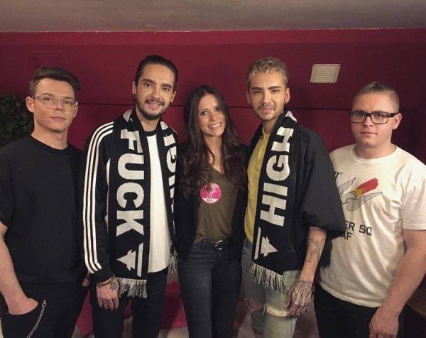 Photo-Interview pour Sat1, Hambourg (15.03.2017)