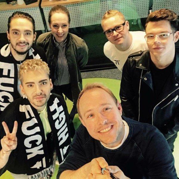 Photo-Interview pour Njoy Radio, Hambourg (15.03.2017)