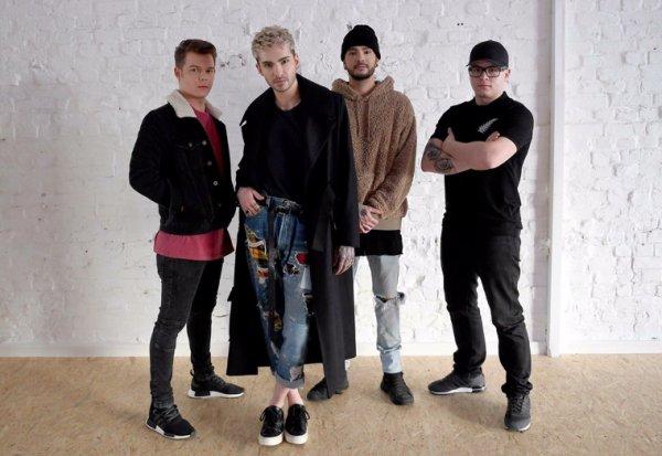 Tokio Hotel photoshooting