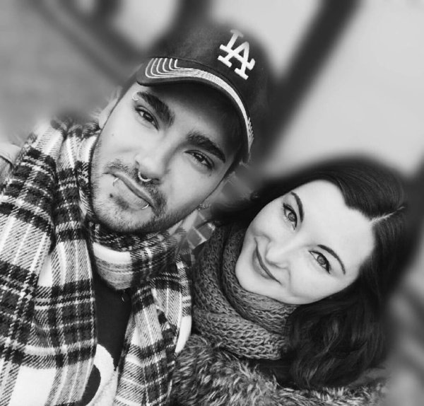 Photo-Bill avec une fan, Berlin le (26.02.2017)