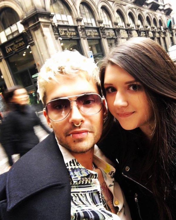 Photo-Bill avec des fans, Milan (22.02.2017)