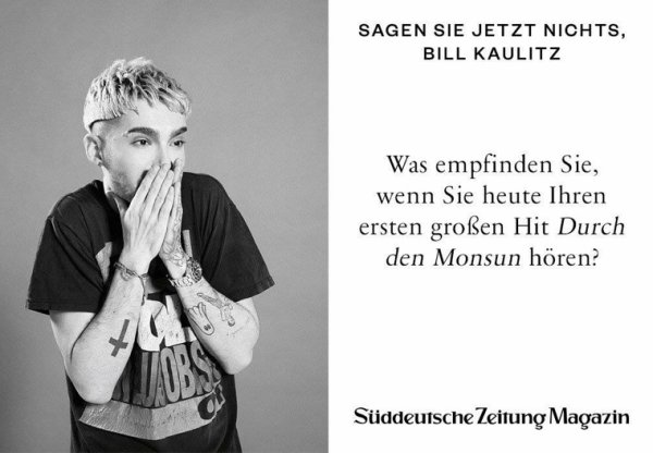 Nouvel interview de Bill dans SZ en kiosque demain magasin disponible en Allemagne, en print et en digital