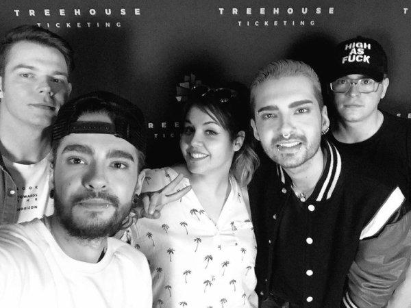 Le groupe en selfie a Zurich
