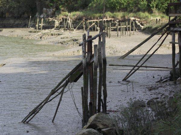 Cabane de pêche  ( la rance) (35) (22) Bretagne