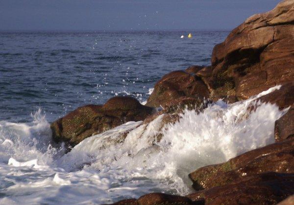 Couché soleil coté mer (Erquy)