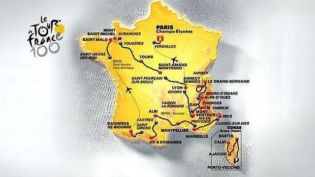 Tour de France 2013 : 100ème édition