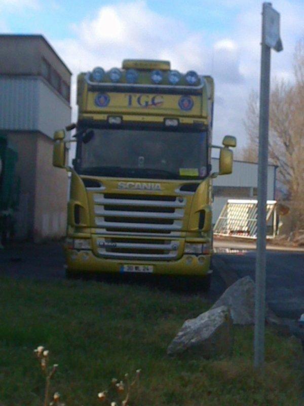 Scania R560 TGC