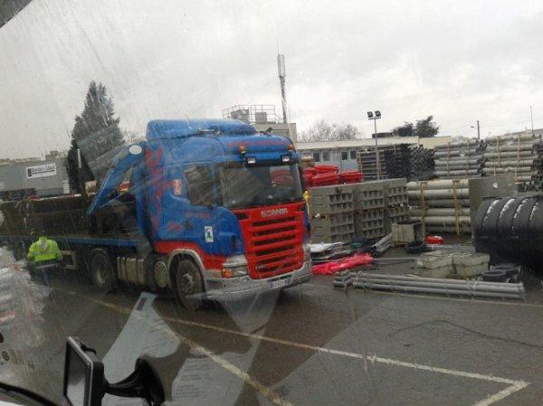 Scania TRANSPORT MONTBRISONNAIS