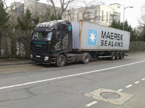 Stralis + Maersk :P