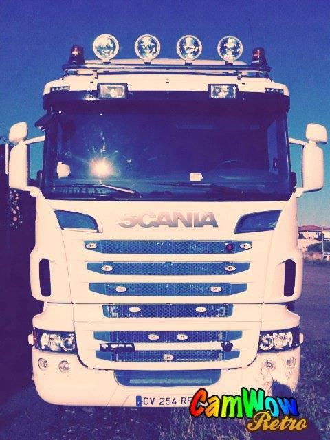 Scania V8 Transport MONTAGNE ! ♥