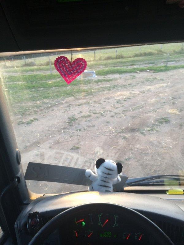 Petit coeur fait par ma meilleure amie !!! ♥