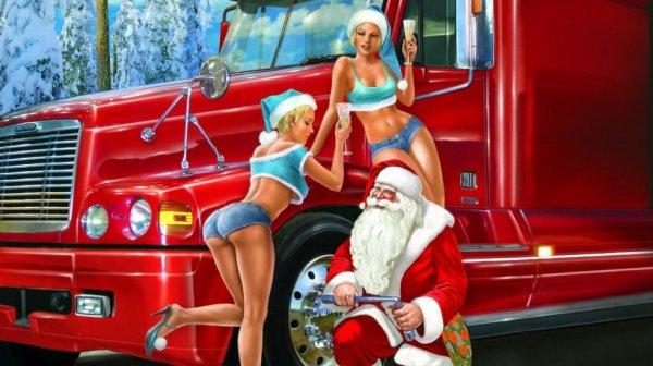 Joyeux Noël (en retard) la Famille, la prudence pour ceux qui sont sur les routes !