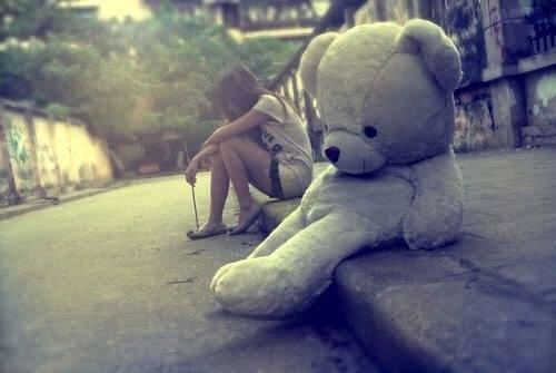 Lorsqu'on nous sommes tristes....