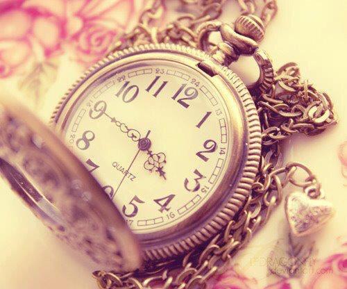Le temps ne vaut rien mais rien ne vaut le temps.