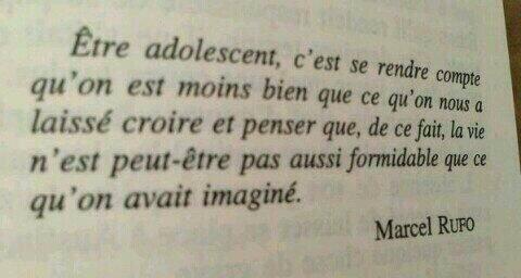 Être adolescents...