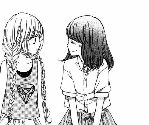 """""""Les amies, c'est ceux qui sont là pour toi peut importe tes choix et tes erreurs, ceux qui savent tout de toi et continuent de te soutenir."""""""