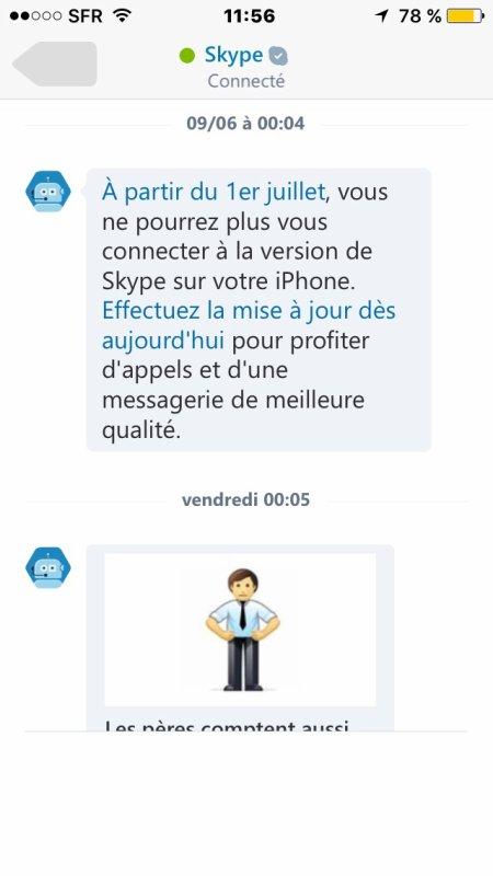 Soucis avec skype, qui pourrait m'aider ?!