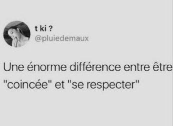 Une énorme différence entre .../...